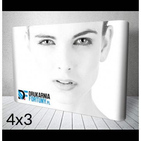 Ścianka ECONO 4x3 DrukarniaFortuny.pl