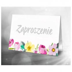 Zaproszenia składane DrukarniaFortuny.pl
