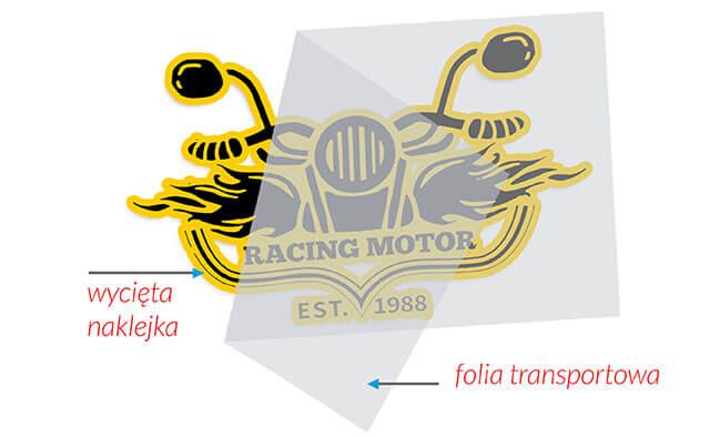 Cięcie, obieranie i folia transportowa Drukarnia Fortuny